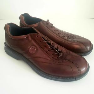 ECCO Brown Leather Casual Men's Shoes